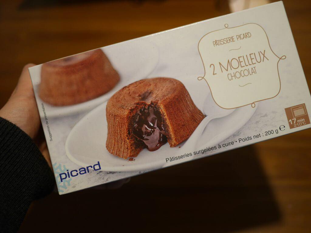 ピカール(Picard)で買ったらおまけについてきた、モアローショコラ