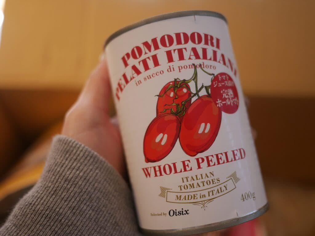 キットオイシックス おためし トマト缶