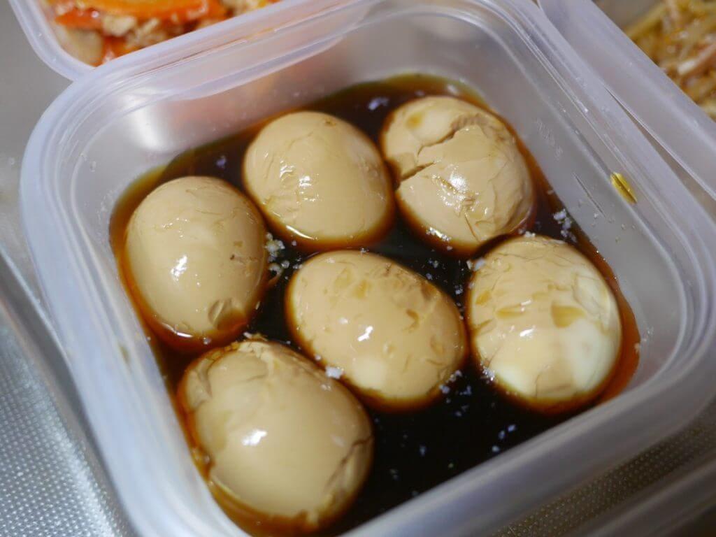 家事代行で作ってもらった煮卵