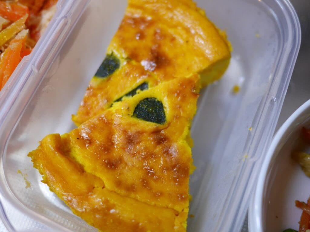 家事代行で作ってもらったかぼちゃのチーズケーキ