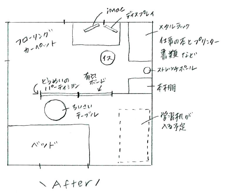 和室DIY改造計画 after
