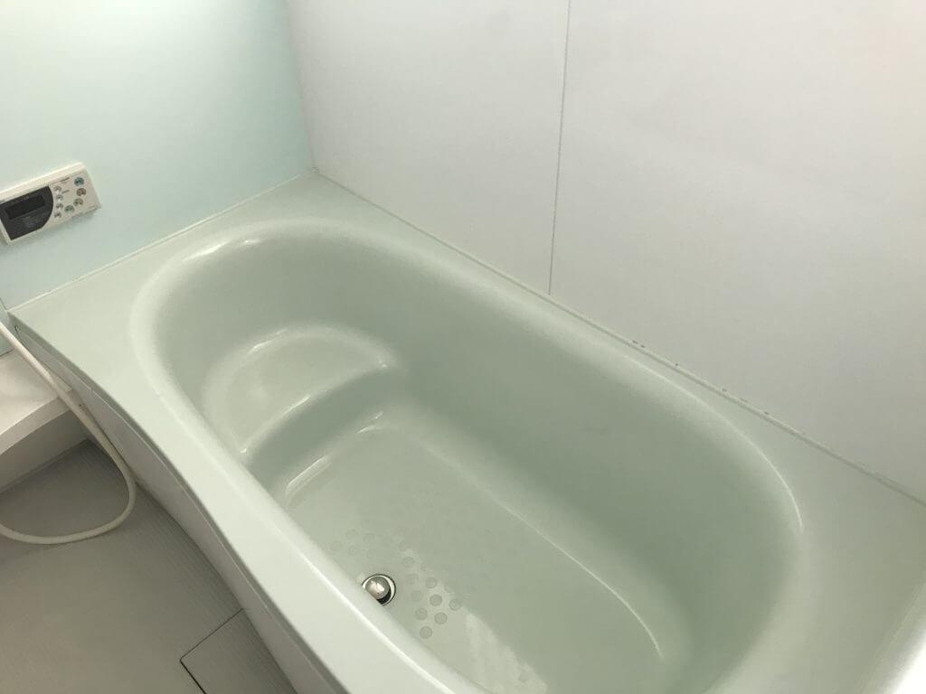 ダスキンさんが掃除してくれた浴室