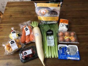 オイシックスのミールキット 野菜