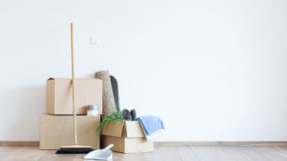 引っ越し時のハウスクリーニング