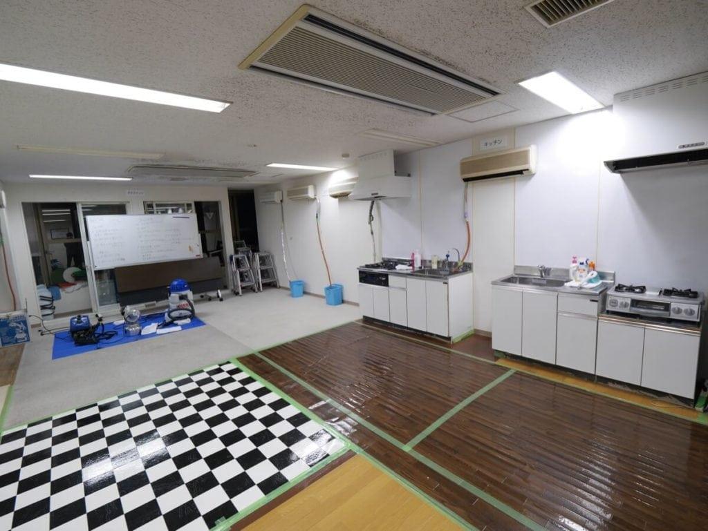 おそうじ本舗 研修センター キッチン