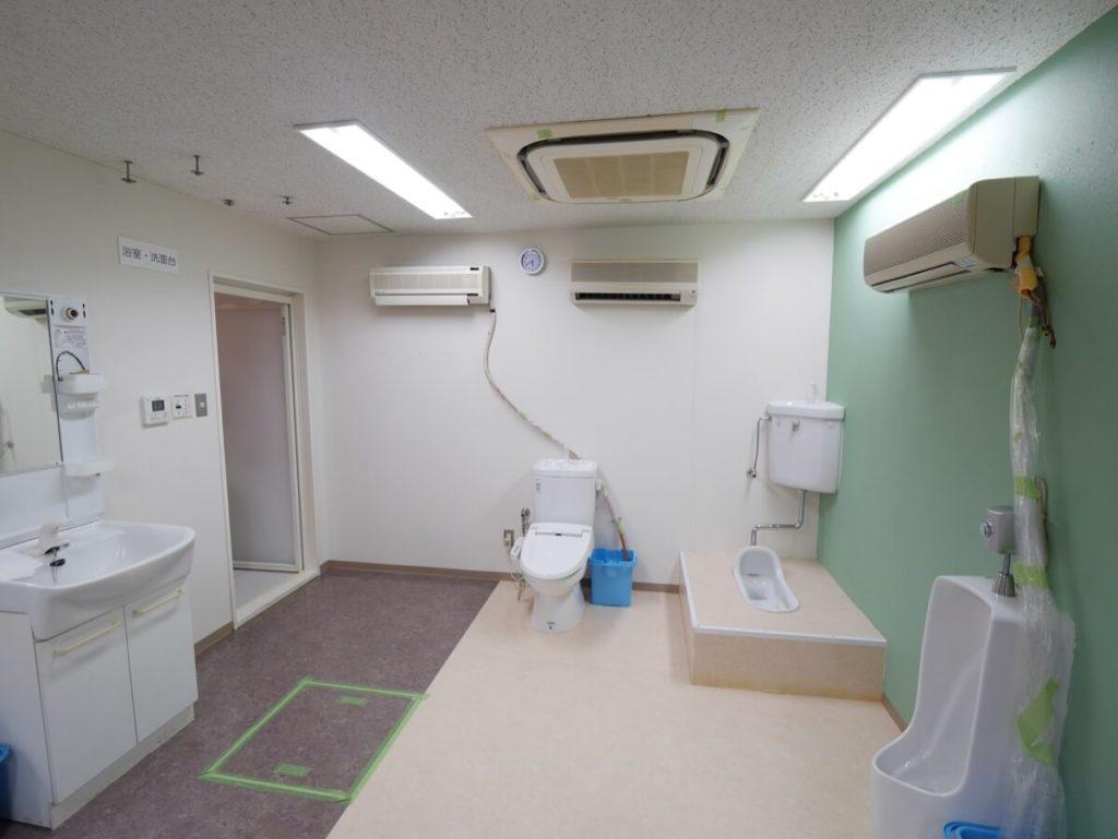 おそうじ本舗 研修センター トイレ
