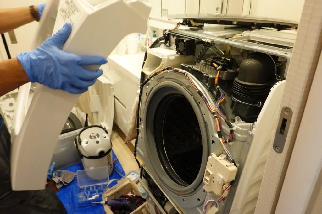 パナソニックの洗濯機 Panasonic VXシリーズ分解