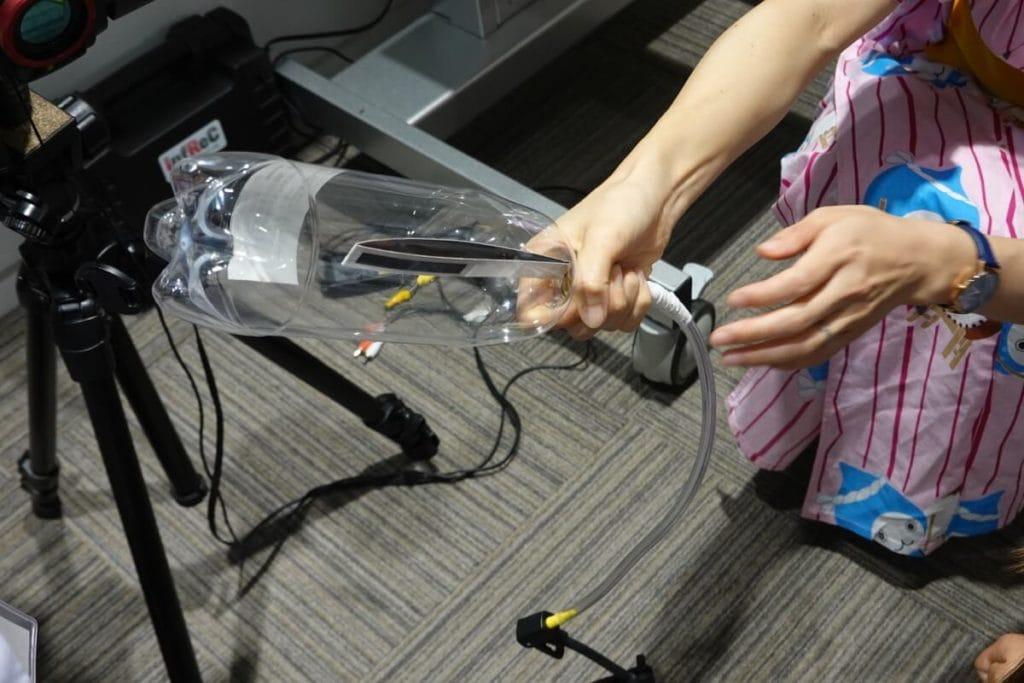 ペットボトルで空気を圧縮