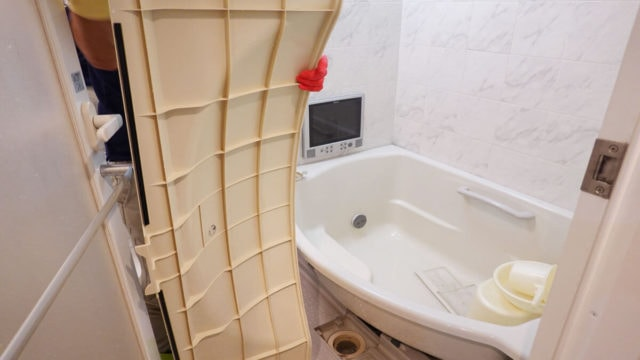 ハウスクリーニングのオン 浴室クリーニング