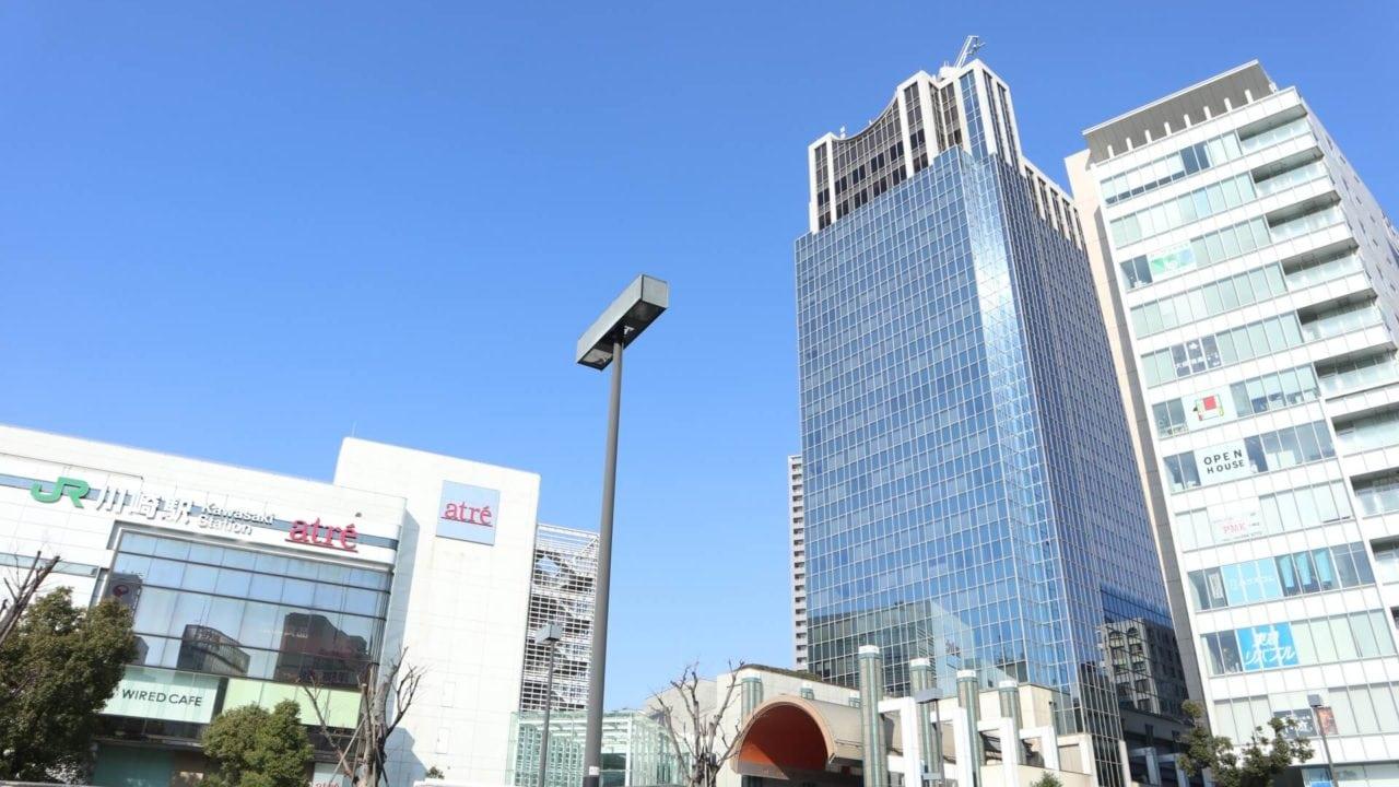 川崎市駅前