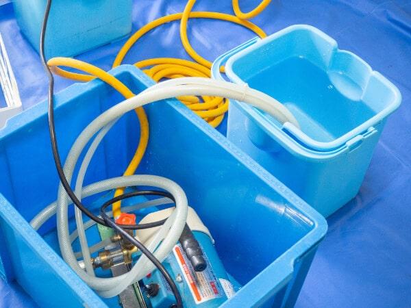 エアコンの洗浄機