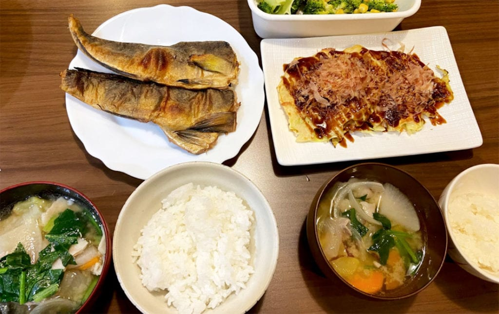 ヨシケイのバランスのいい食事