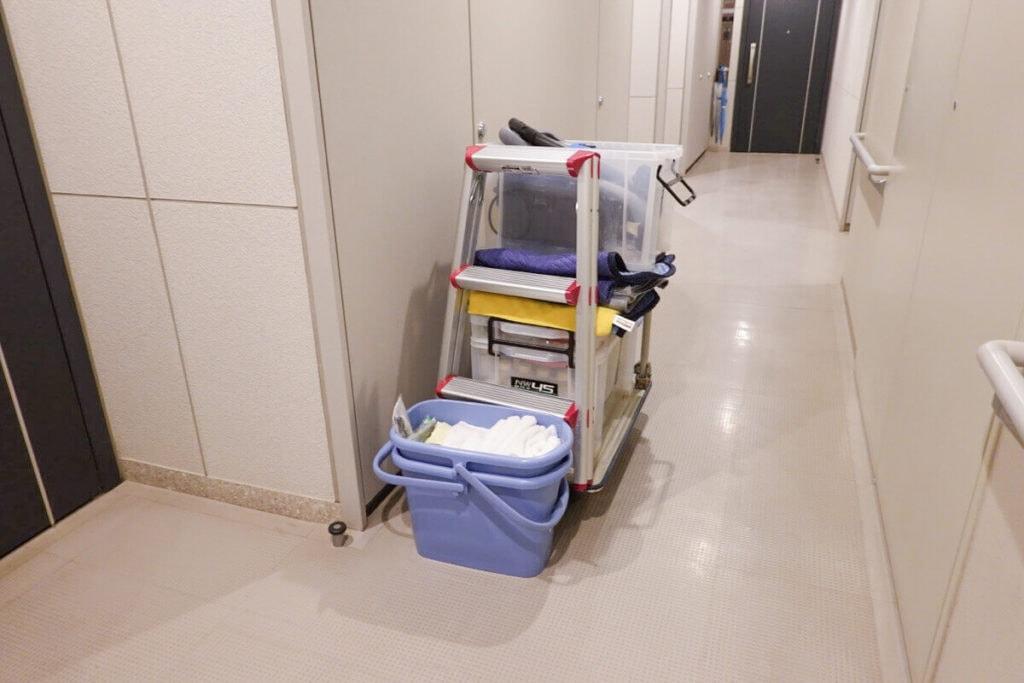 ベアーズ ハウスクリーニングの掃除道具