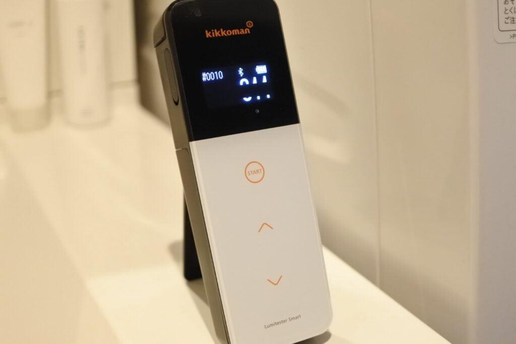 ルミテスターで計測したドラム式洗濯機の雑菌数