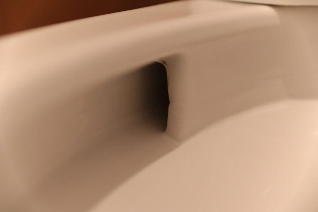 トイレクリーニング後の綺麗になった便器