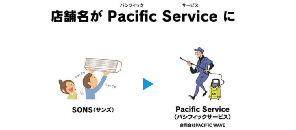 エアコンクリーニングパシフィックサービス