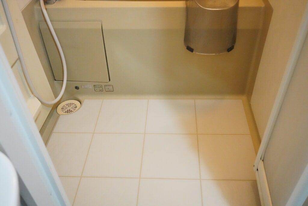 ココナラミーツでのエアコンクリーニングで使用したお風呂場