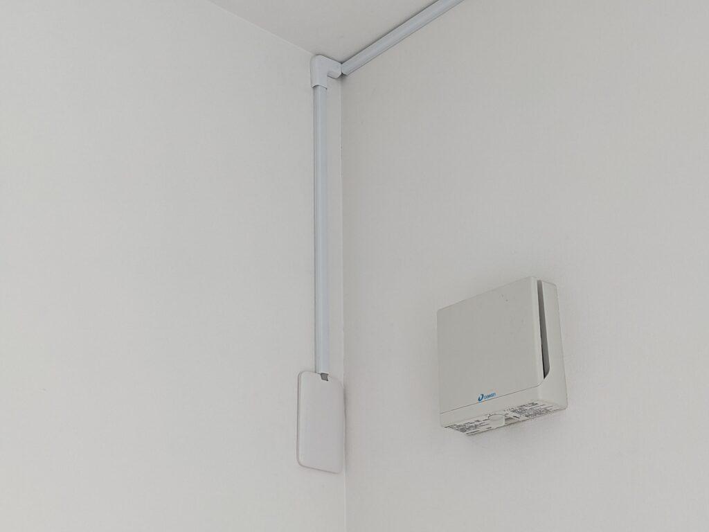 工事後のエアコン専用コンセント